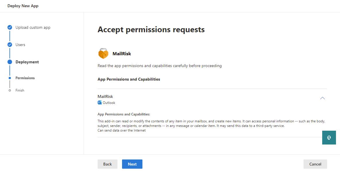 Upload XML manifest