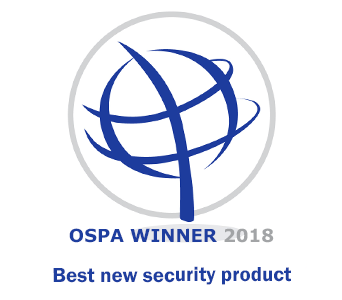 OSPA Winner 2018 Best new security product